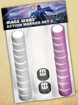 Mage Wars: Action Marker Set 2 Box Front