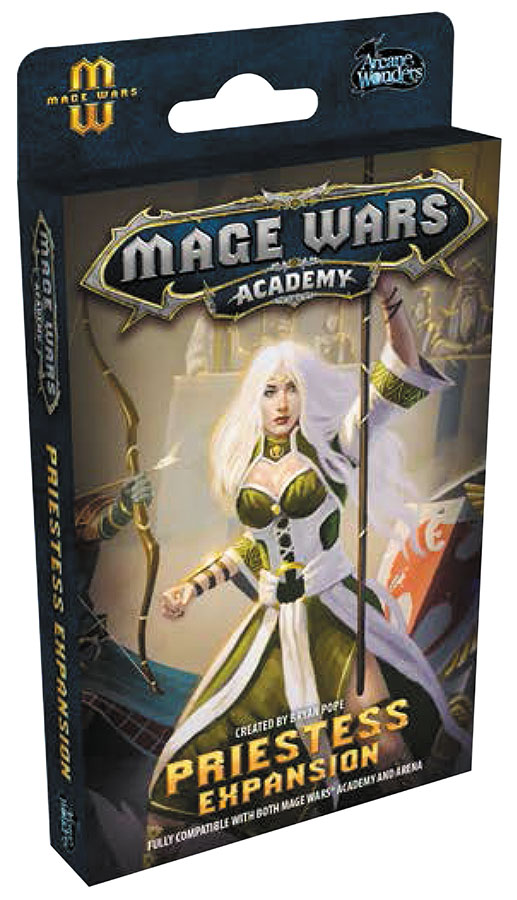 Mage Wars Academy: Priestess Expansion Box Front