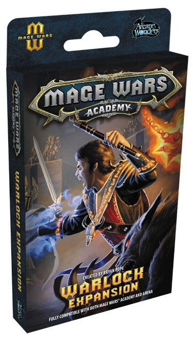 Mage Wars Academy: Warlock Expansion Box Front