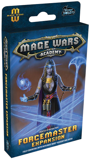 Mage Wars Academy: Forcemaster Expansion Box Front