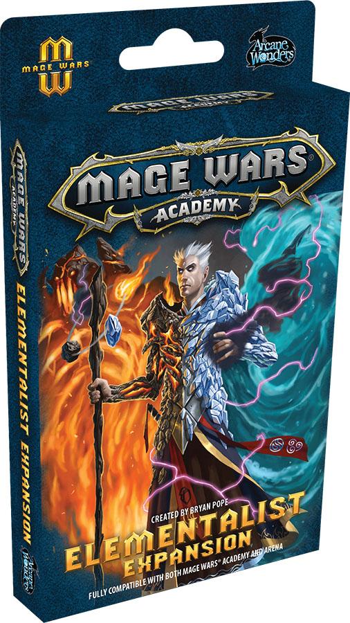 Mage Wars Academy: Elementalist  Game Box