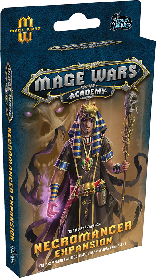 Mage Wars Academy: Necromancer Expansion Game Box