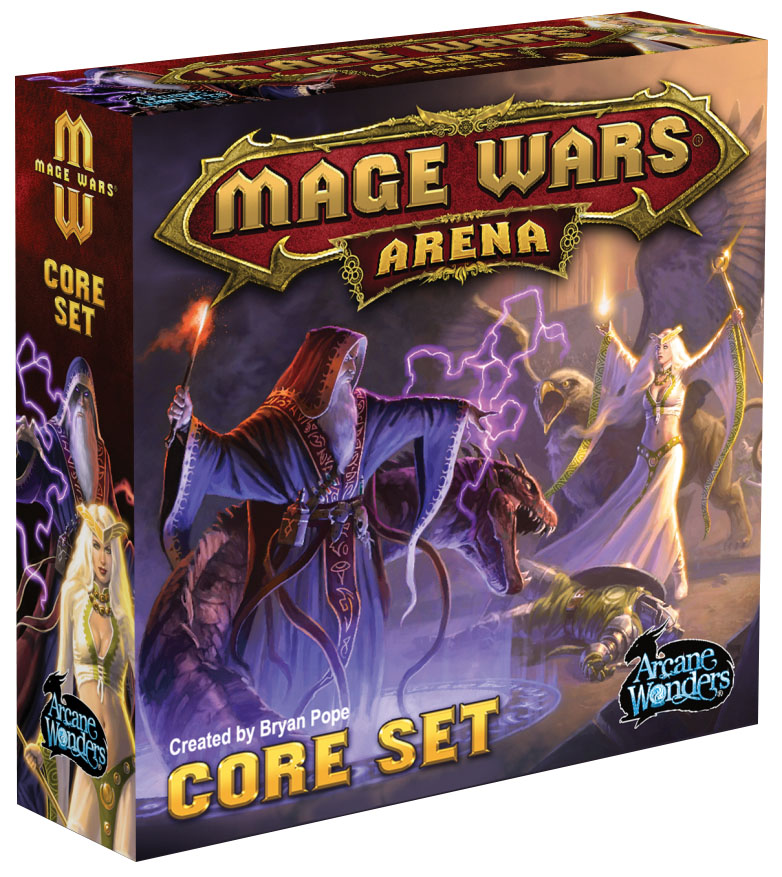 Mage Wars Arena: Core Set Box Front