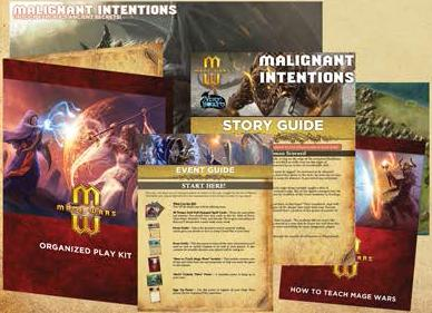 Mage Wars: Organized Play Kit 5 - Malignant Intentions Box Front