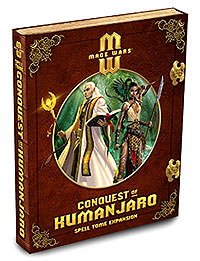 Mage Wars: Conquest Of Kumanjaro Expansion Set Box Front