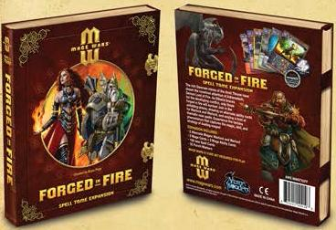 Mage Wars: Forged In Fire Spell Tome Expansion Box Front