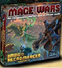 Mage Wars: Druid Vs Necromancer Expansion Set Box Front