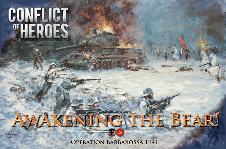 Conflict Of Heroes: Awakening The Bear 2nd Edition Box Front
