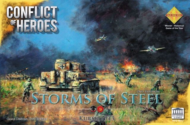 Conflict Of Heroes: Storms Of Steel - Kursk 1943 2nd Edition Box Front