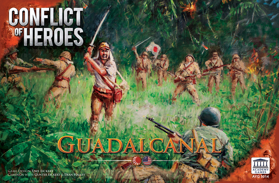 Conflict Of Heroes: Guadalcanal Box Front
