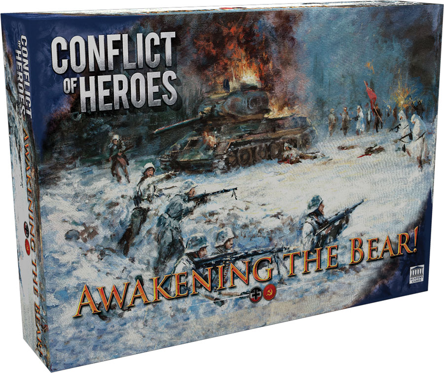 Conflict Of Heroes: Awakening The Bear 3rd Edition Game Box