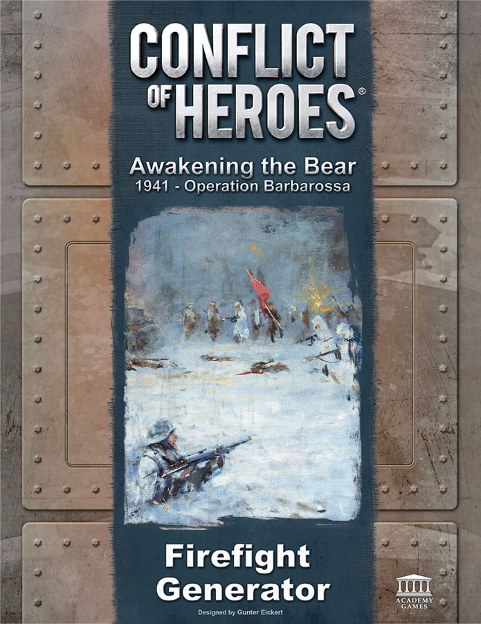 Conflict Of Heroes: Awakening The Bear Firefight Generator Expansion Box Front