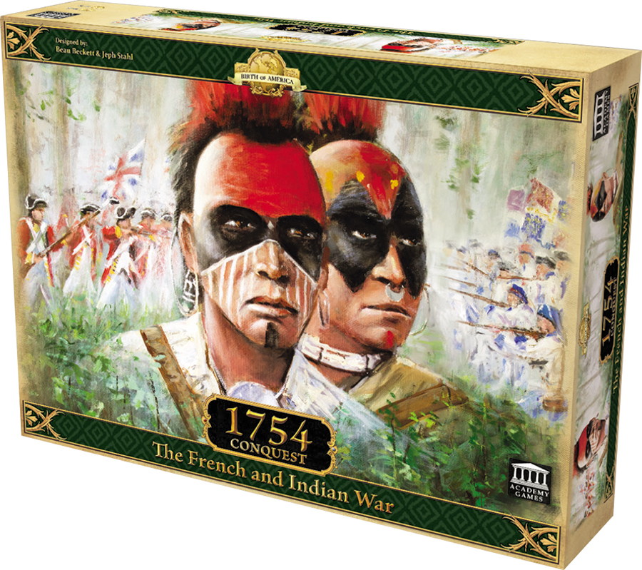 1754 Conquest - The French And Indian War Box Front