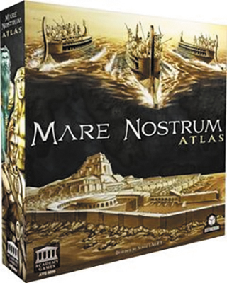 Mare Nostrum: Empires Atlas Expansion Box Front
