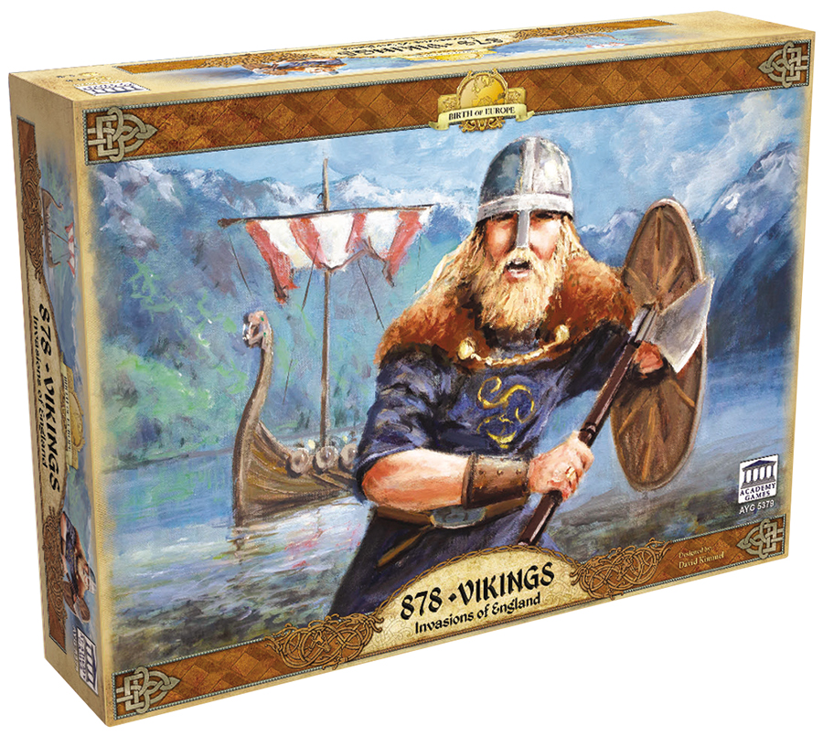 878 Vikings: Invasions Of England Box Front
