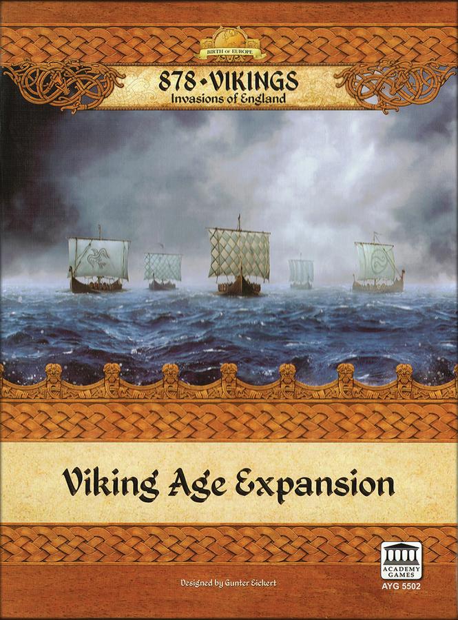 878 Vikings: Viking Age Expansion Box Front