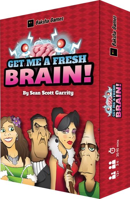 Get Me A Fresh Brain Box Front