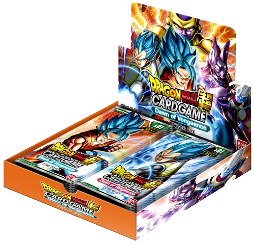 Dragon Ball Super Booster 1 Display (24) - Galactic Battle Box Front