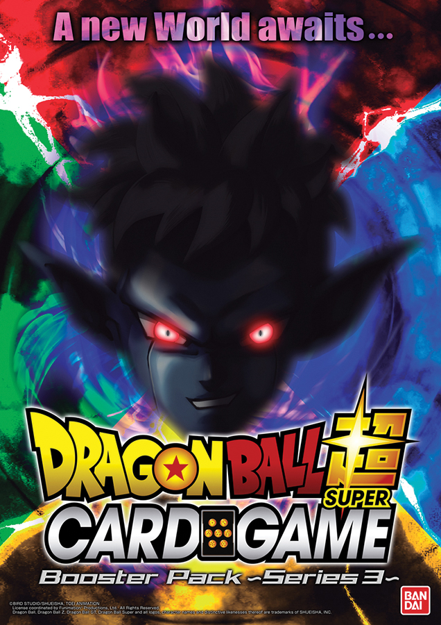 Dragon Ball Super Booster 3 Display (24) - Cross Worlds Box Front