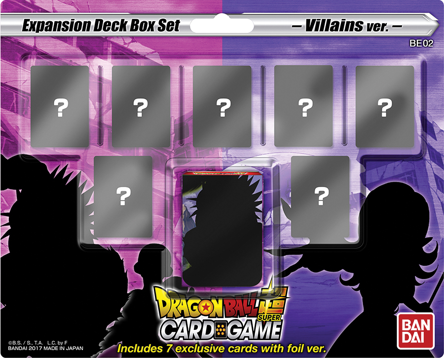 Dragon Ball Super Expansion Deck Box Set: Dark Demon`s Villains Box Front