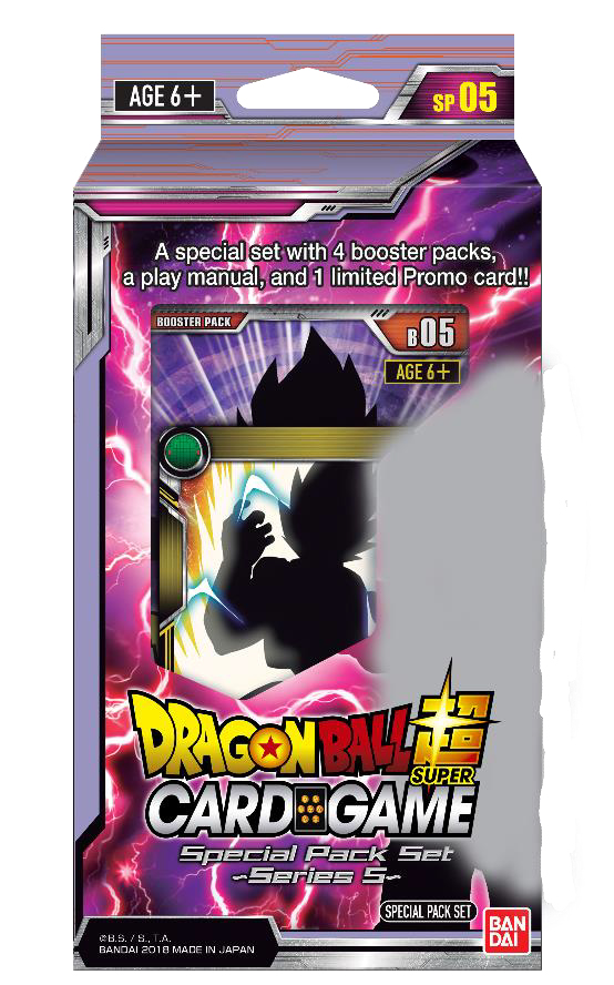 Dragon Ball Super Special Pack Set 5 Display (6) Box Front