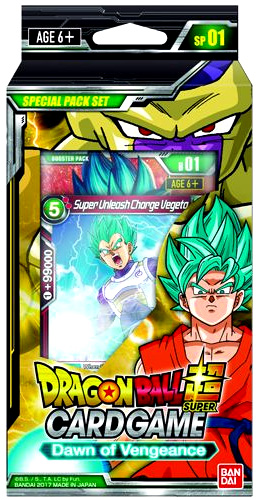 Dragon Ball Super Special Pack Set 1 Display (6) - Galactic Battle Box Front