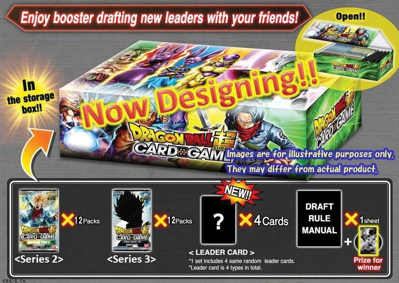 Dragon Ball Super Draft Box Set 2 Box Front