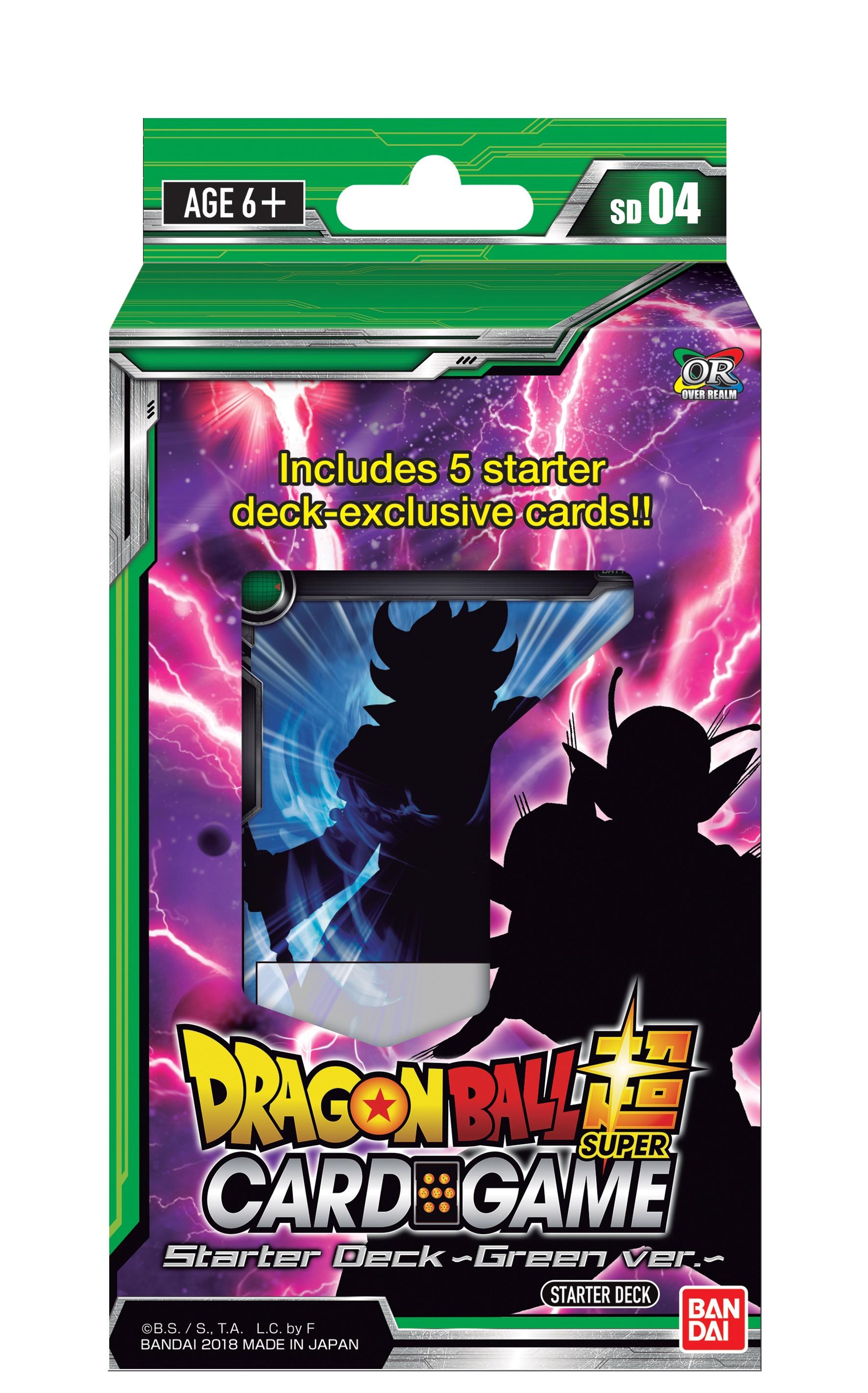 Dragon Ball Super Starter 4 Display (6) Box Front