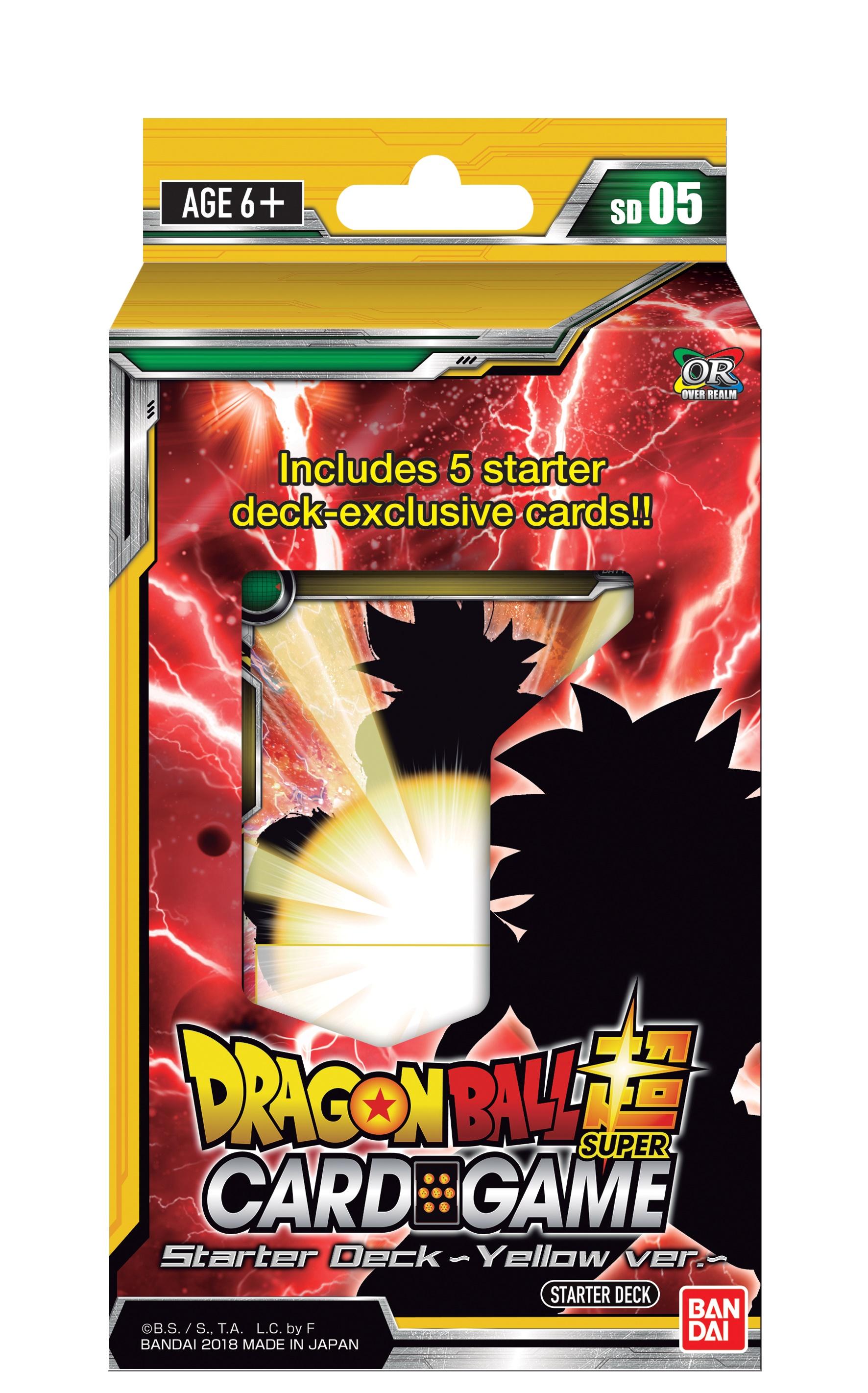 Dragon Ball Super Starter 5 Display (6) Box Front