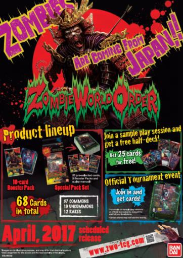 Zombie World Order Launch Kit Box Front