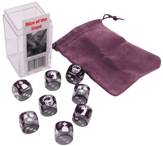 Dice Of The Dead (8 Custom Dice With Bag) Box Front