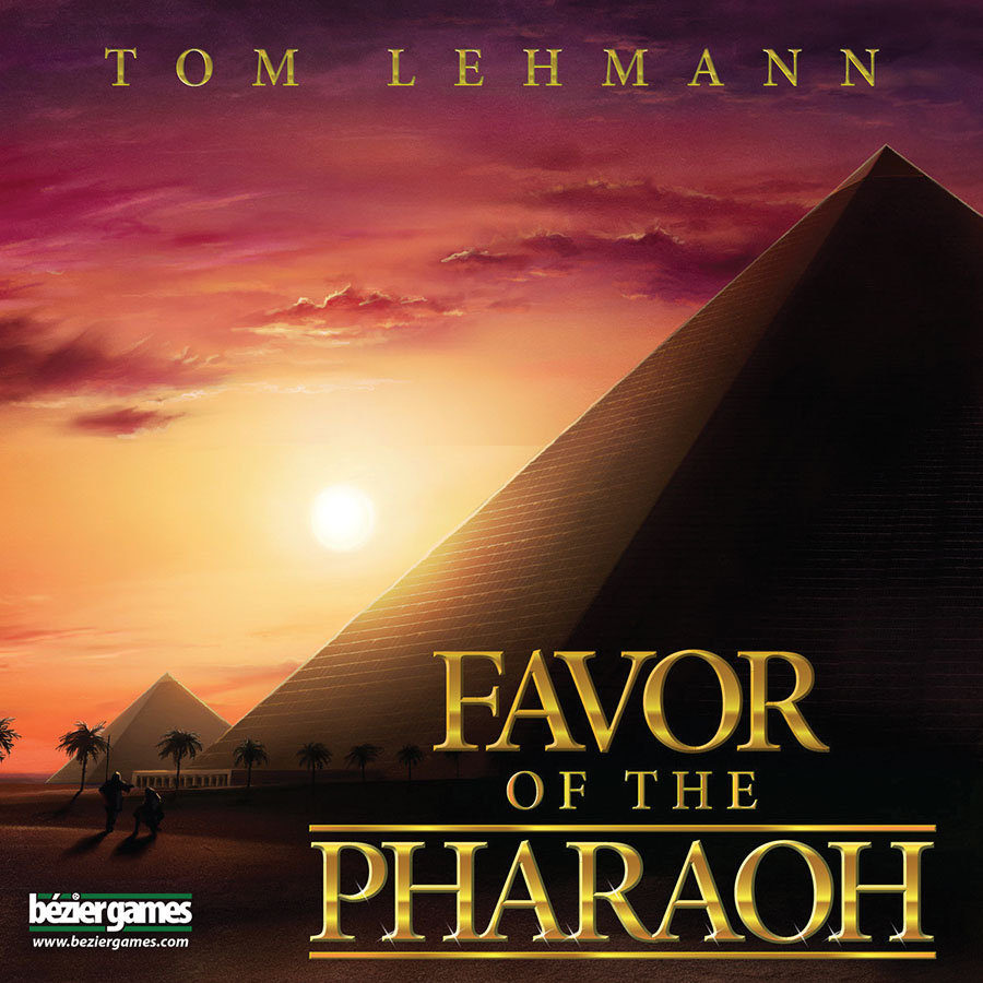 Favor Of The Pharaoh Box Front
