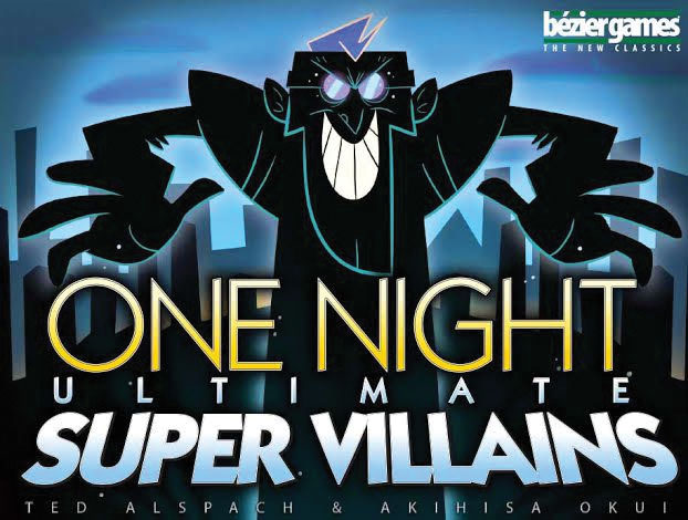One Night Ultimate Super Villains Game Box