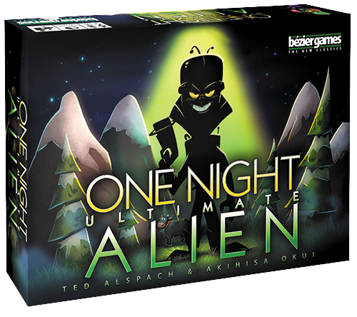 One Night Ultimate Alien Box Front
