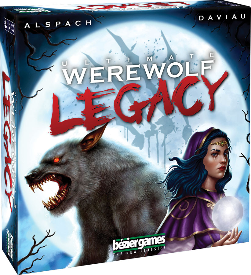 Ultimate Werewolf: Legacy Box Front