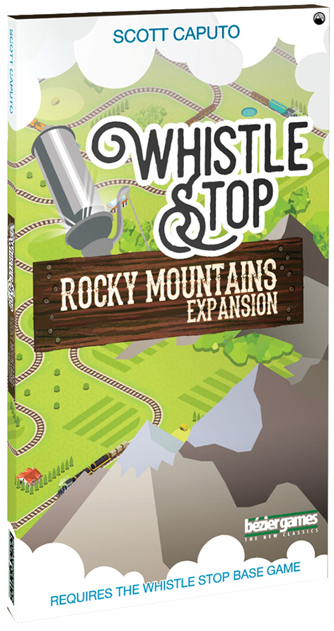 Whistle Stop: Rocky Mountains Expansion Box Front