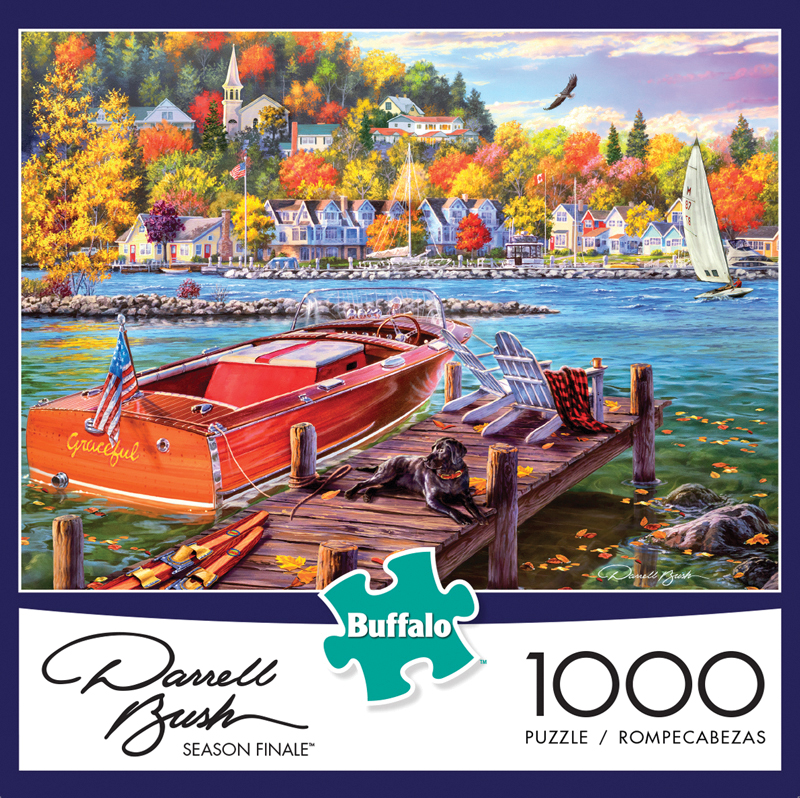 Darrell Bush - Season Finale Puzzle (1000 Pieces) Box Front