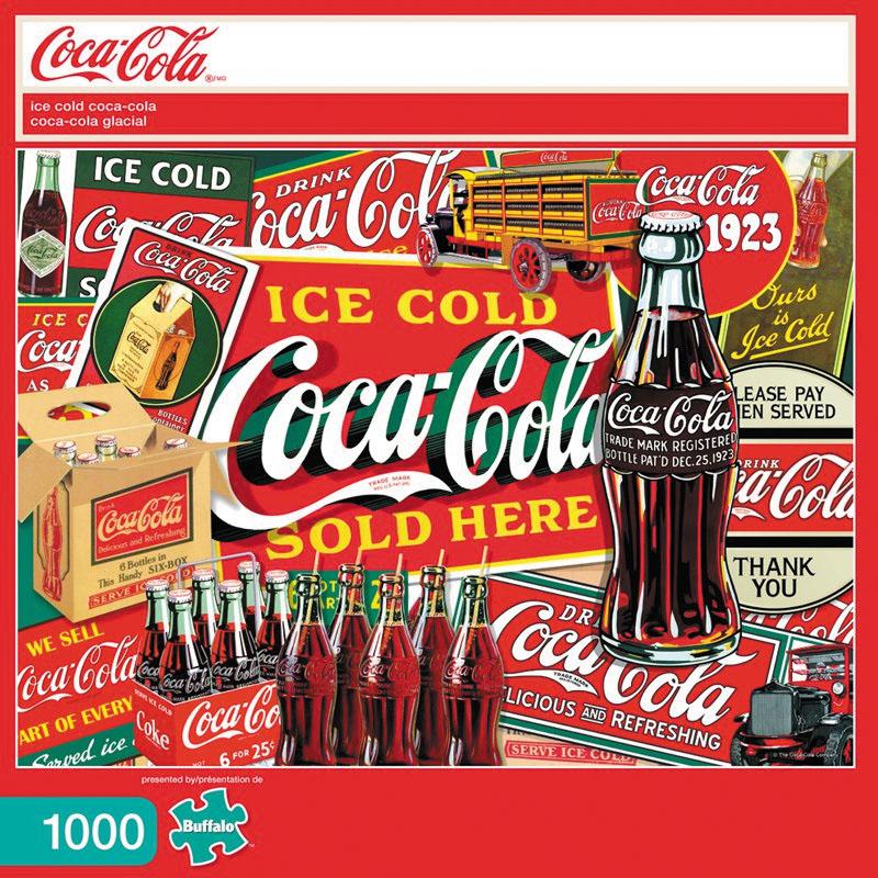 Coca Cola: Ice Cold Coca-cola Puzzle (1000 Pieces) Box Front