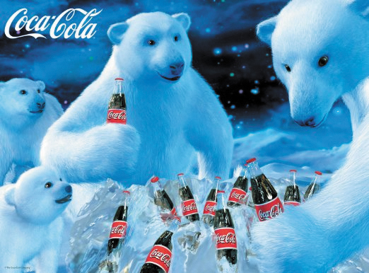Coca Cola: Polar Bears Puzzle (1000 Pieces) Box Front