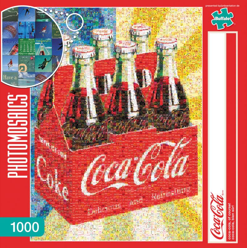 Coca Cola Of Course Puzzle (1000 Pieces) Box Front