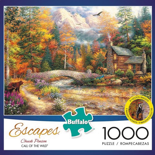 Call Of The Wild Puzzle (1000 Pieces) Box Front