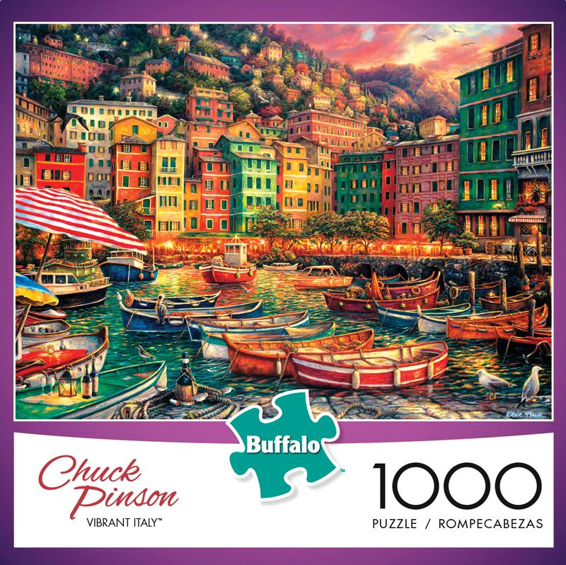 Vibrant Italy Puzzle (1000 Pieces) Box Front