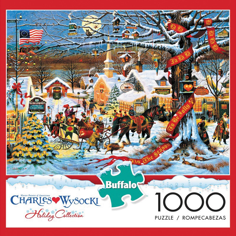 Holiday - Small Town Christmas Puzzle (1000 Pieces) Box Front