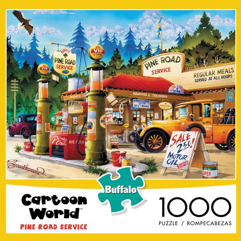 Cartoon World - Pine Road Service (1000 Pieces) Box Front