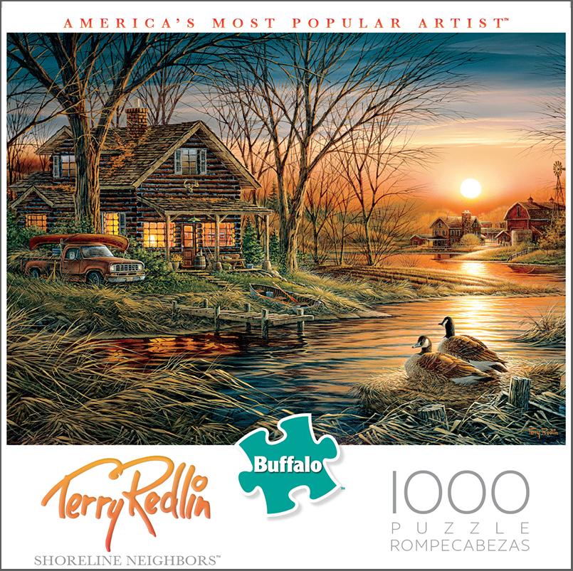 Shoreline Neighbors Puzzle (1000 Pieces) Game Box