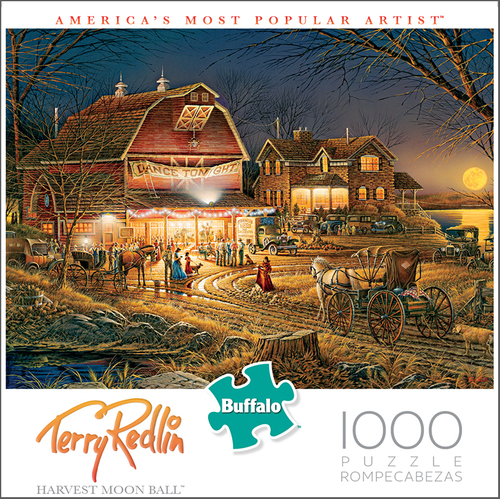 Harvest Moon Ball Puzzle (1000 Pieces) Game Box