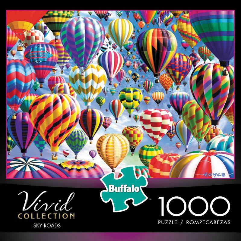 Vivid: Sky Roads Puzzle (1000 Pieces) Box Front