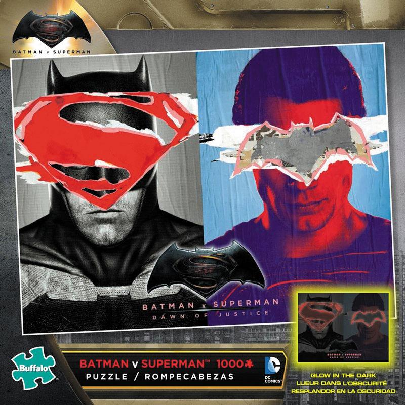 Batman Vs Superman Puzzle (1000 Pieces) Box Front