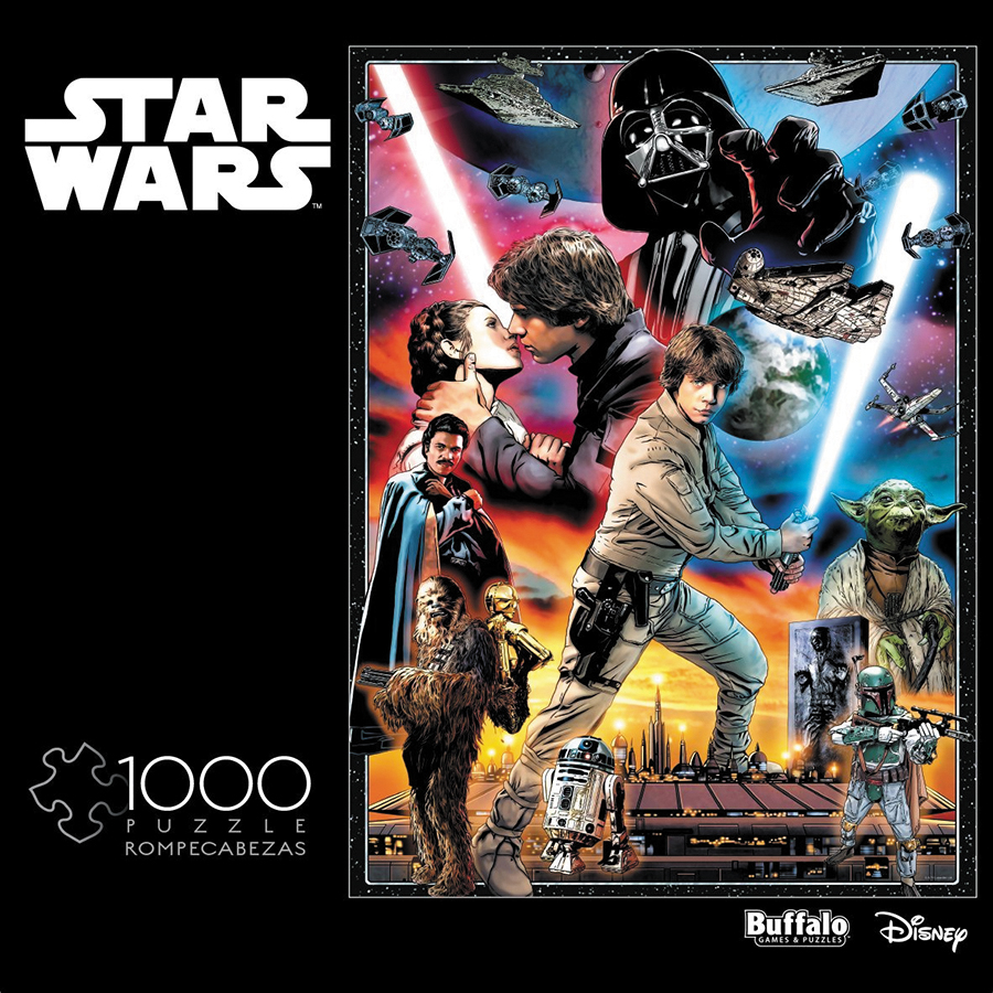 Star Wars Vintage Art: You`ll Find I`m Full Of Surprises Puzzle (1000 Pieces) Box Front