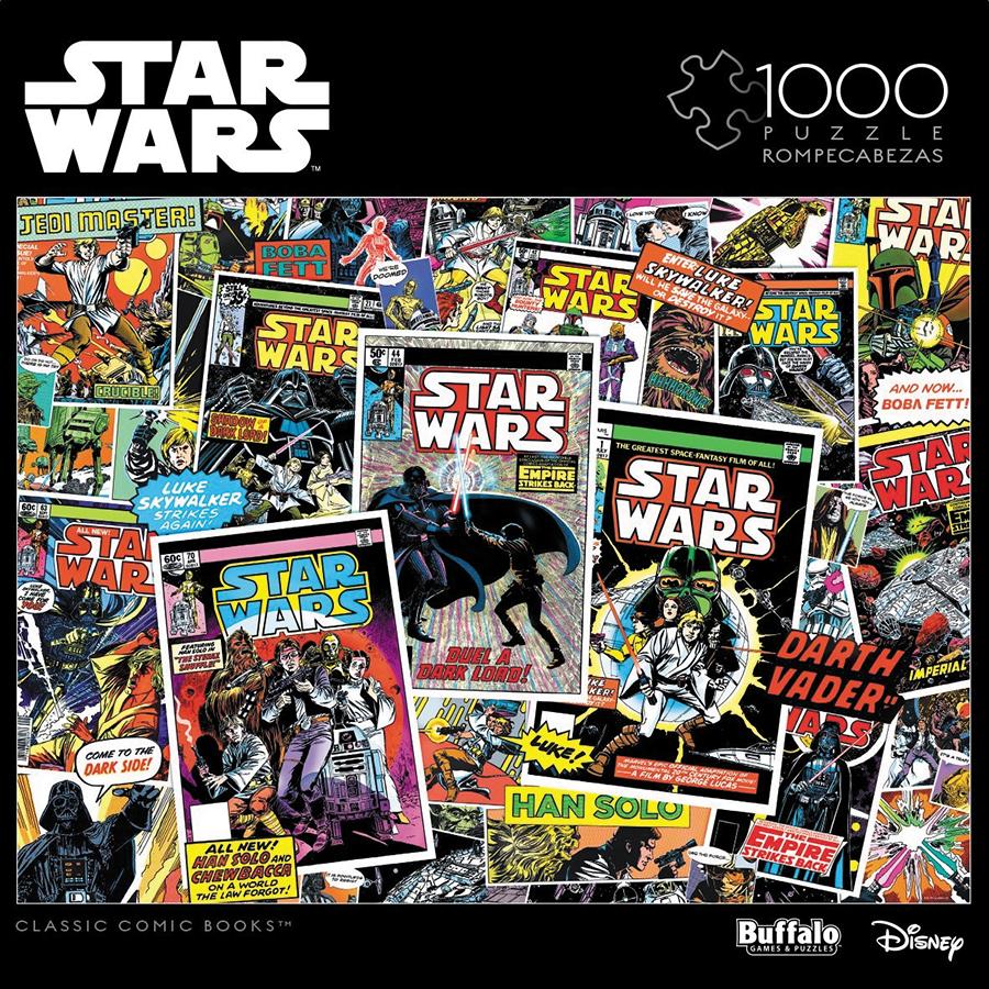 Star Wars Vintage Art: Classic Comic Books Puzzle (1000 Pieces) Box Front